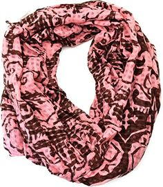 #Echo Design Womens Damask Infinty Loop #Infinity #Scarf (Pink Brown) Echo Design http://www.amazon.com/dp/B00P04O57K/ref=cm_sw_r_pi_dp_14yvub1E7RF1C