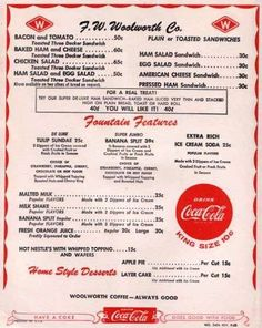 Take a look at these vintage Alabama restaurant menus Toast Sandwich, Egg Salad Sandwiches, Sandwich Menu, Sandwich Board, Cheese Toast, Ham And Cheese, Ham Salad, Chicken Salad, Chefs