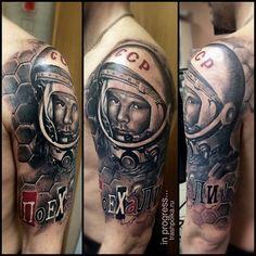 trash polka Gagarin
