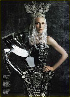 Cate Blanchett- Vogue 2006 in John Galliano Haute Couture | Flickr - Photo Sharing!