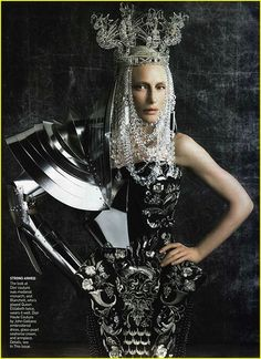 Cate Blanchett- Vogue 2006 in John Galliano Haute Couture  by Winter Phoenix, via Flickr