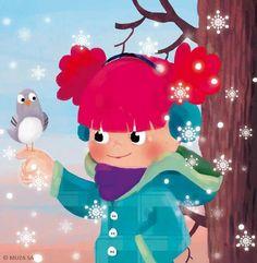 Kasia Nowowiejska - professional children's illustrator, view portfolio