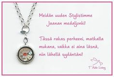 Thank you Jaana for sharing your T'Aide Living locket with us!