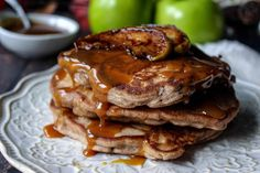 I came up with this recipe as one of my food projects.  I wanted to try to make pancakes with different flavors.