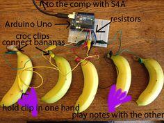 Arduino Banana Piano (Scheduled via TrafficWonker.com)