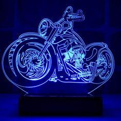 o Kundenspezifischer Code: Acrylgröße: 19 x 16 cm … – Bloğ Diy Signs, Shop Signs, Pvc Pipe Projects, Moto Custom, Lampe Led, Cool Patterns, Light Decorations, Creative Art, Harley Davidson