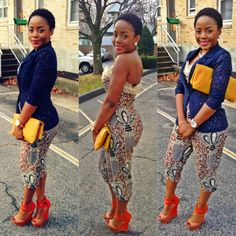 great outfit #African #Fashion