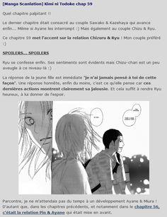 [Manga Scanlation] Kimi ni Todoke chap 59 #reachingyou #kiminitodoke #sawako #shojo #shoujo #manga