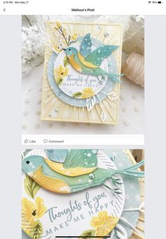 Bird Cards, Emboss, Farm Animals, Handmade Cards, I Card, Note Cards, Fathers Day, Fence, Card Ideas