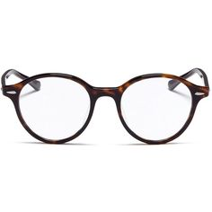7e528bf5a3 Ray-Ban  RB7118  tortoiseshell plastic optical glasses ( 170) ❤ liked on  Polyvore featuring accessories