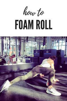 Simply put, foam rolling is a form of massage and a great way to release knots when you don't have someone else to do it for you. Find out how to do it. Flexibility Tips, Flexibility Training, Killer Workouts, Fun Workouts, Running Workouts, Fitness Workouts, Muscle Imbalance, Workout At Work, Foam Rolling