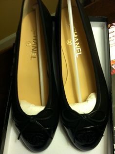 Classic black flats to come to my rescue from heels