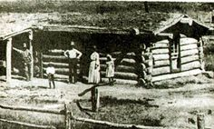 Black Cowboy Isom Dart's Cabin where he was killed in October 1900