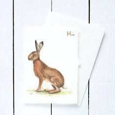 ABC Tierkarte oder Liebe der Ostergruß? Die ABC Postkarte ist der kleine Bruder von unserem ABC Poster. Viele verschiedene Tiere geben dem Alphabet ein Gesicht. Die Postkarte kann man toll als Einladungskarte für die Einschulung oder zum Kindergeburtstag, als Glückwunschkarte oder als Grußkarte verwenden. Mit viel Aufwand und viel Liebe wurde jedes Tier mit Aquarellfarben auf Papier gebracht. Die Karte in Büttenoptik wird mit passendem Umschlag und schützender Klarsichthülle verschickt…
