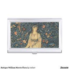 Antique William Morris Flora Business Card Case