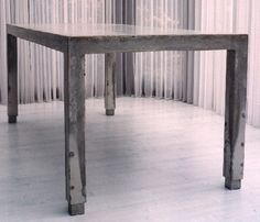 concrete table I