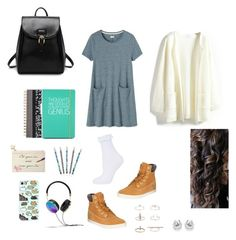 """""""Fabulous Friday """" by fortesajakupi12 on Polyvore featuring Toast, Timberland, Mulberry, Topshop, Vera Bradley, Dot & Bo, Happy Jackson, Kate Spade, Frends and women's clothing"""