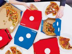Domino's U.K released a bold brand refresh for their pizza boxes, and they're designed to cut through the noise of social media.