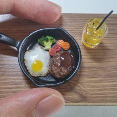 Miniature food #miniature #miniaturefood #fakefood #handmade #clay#airdryclay #미니어쳐#미니어쳐음식