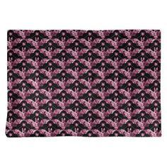 East Urban Home Katelyn Elizabeth Floral Bats Placemat Colour: Pink Kid Bathroom Decor, Bathroom Paint Colors, Placemat Sets, Napkins Set, Better Homes, Basket Weaving, Timeless Design, Favorite Color