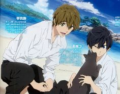 Haru And Makoto, Makoto Tachibana, Makoharu, Splash Free, Free Eternal Summer, Free Iwatobi Swim Club, Hot Anime Boy, Free Anime, Shall We Date