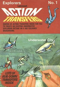 Action Transfers, loved these. Wish I could find a whole box of them now, hours of fun/time wasting 1970s Childhood, My Childhood Memories, Childhood Toys, Great Memories, Vintage Toys 1970s, 1960s Toys, Retro Toys, 1980s, Vintage Kids