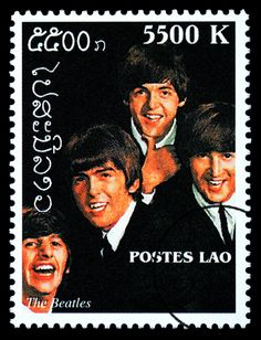 Laos, Rare Stamps, Vintage Stamps, Beatles Love, Beatles Poster, Timor Oriental, Famous Musicals, Postage Stamp Design, John Lennon And Yoko