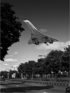 "by Peter Davidson    Last Flight from JFK  ""Took me a whole week to get this shot … end of an era.""  I wish I could have flown on the Concorde. I was on the plane almost everyday and considered stowing away many times."