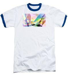 Baseball T-Shirt - Abstract 9502
