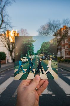 Abbey Road, London.