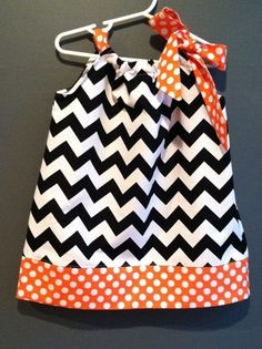 Fall Halloween Chevron Boutique Girl by PersonalizedforyouKY, $35.00