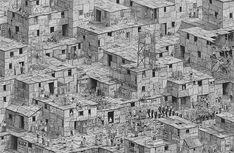 Ben Tolman, Samo, 2015. Ink on paper