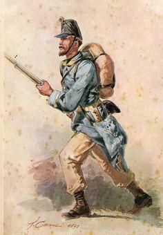 Regio Esercito - Sergente della Brigata Aqui