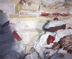 Will Cotton, Creamy Dream, 2000, oil on linen, 60 x 72 inches. Courtesy of the artist and Mary Boone Gallery