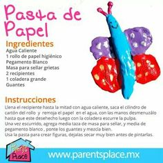 Pasta de papel Toddler Learning Activities, Infant Activities, Teaching Kids, Home Crafts, Diy And Crafts, Arts And Crafts, Paper Crafts, Kids Workshop, Creative Workshop