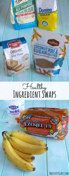 Healthy Ingredient Swaps & Substitutions