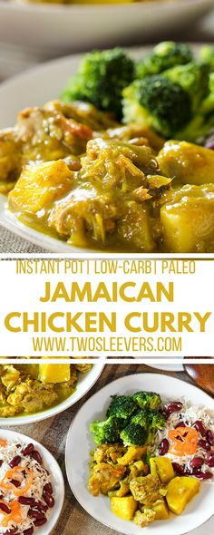 Jamaican Chicken Curry Spicy Delicious and Instant Pot Jamaican Chicken Curry Spicy Delicious and Instant Pot Miriah Zajic miriahzajic Dinner Ideas Jamaican Curry Chicken Instant Pot nbsp hellip instant pot chicken Oxtail Recipes, Curry Recipes, Paleo Recipes, Easy Recipes, Instant Recipes, Oven Recipes, Jamaican Dishes, Jamaican Recipes, Authentic Jamaican Cabbage Recipe