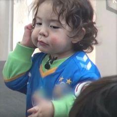 Cute Asian Babies, Korean Babies, Superman Kids, Korean Tv Shows, Song Triplets, Baby Park, Cute Faces, Baby Fever, Cute Kids