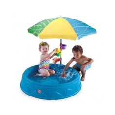 Play & Shade Toddler Baby Pool Umbrella Outdoor Kids Fun Water & Sand Toys New