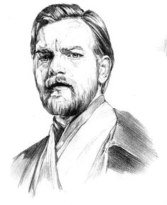 Obi Wan Kenobi by gattadonna on deviantART