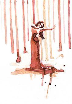 """Ilustración para """"Federico según Lorca"""" de Eva Yerbabuena:"""
