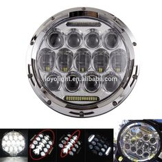 75W 7inch Chrome Replacement Projector LED Jeep (hi low beam) Headlight with White DRL yellow turning for Jeep Wrangler JK (1997 - 2017) Hummer Harley H4 H13 Headlamp Kits #H4headlight #chromeheadlight #jeepheadlight #headlight #projectorheadlight #replacementheadlight #7inchheadlight #drlheadlight #jk #hummer #harleyheadlight #harley #H13headlight #headlamp #ledheadlightkit #75wheadlight #whiteccolorheadlight #yellowheadlight #turningheadlight #runningheadlight