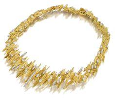 Most gorgeous diamond choker necklaces 9231 Jewelry Show, Hand Jewelry, Cute Jewelry, Modern Jewelry, Vintage Jewelry, Jewelry Design, Vintage Necklaces, Diamond Choker Necklace, Choker Necklaces