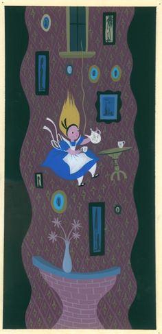 """""""MAGIC, COLOR, FLAIR: the world of Mary Blair"""" @ Walt Disney Family Museum, SF: MaryBlair_exhibition_alice.jpg"""