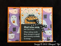 Another Clever Cats Halloween Card - StampKnowHow.com