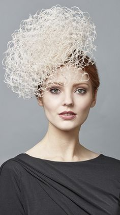 Royal Milliner Rachel Trevor-Morgan offers a couture bespoke service for occasion hats and headdress. Fashion Mask, Steampunk Fashion, Gothic Fashion, Fashion Fashion, Rachel Trevor Morgan, Occasion Hats, Fascinator Hats, Fascinators, Fancy Hats