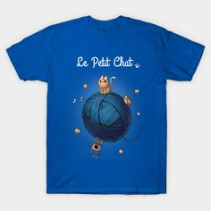 Le Petit Chat T-Shirt - Le Petit Prince Parody T-Shirt is $12 today at TeeFury!