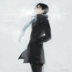 I love this! Levi with a slight Sherlock feel.