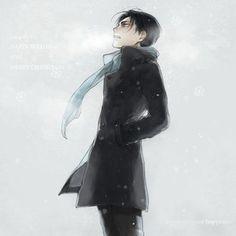 I love this! Levi with a slight Sherlock feel.