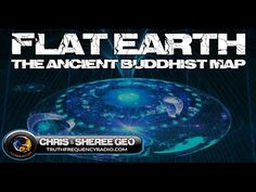 Flat Earth Proof?  The Ancient Buddhist Map (1000 AD)